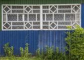 Vieille fenêtre rustique — Photo
