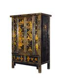 Mobília chinesa. armário — Fotografia Stock