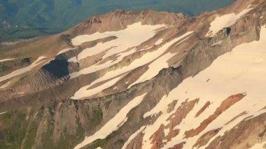 Aerial Mt Hood — Stock Video