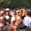 Anonymous Large Crowd — Stock Video #47248145