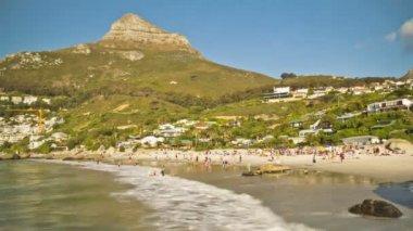 Clifton Beach near Cape Town — Stock Video