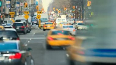 New York City traffic — Stock Video
