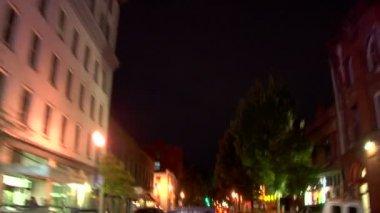 Portland City Driving — Stock Video
