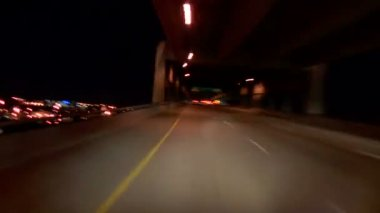 Driving on I-5 North to I-405 South in Portland — Stock Video