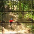 Video montage of mountain biking videos. — Stock Video #49842475