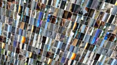 Different transportation individual videos — Stock Video