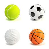 Sport balls — Stock fotografie