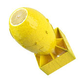 Lemon bomb concept — Stock Photo