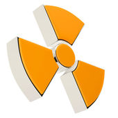 Radiation sign — Stock Photo