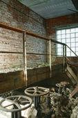 Fábrica abandonada — Fotografia Stock