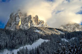 Ski resort of Selva di Val Gardena, Italy — Stock Photo