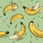 Banana seamless 2 — Stock Vector