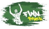 Brasil final — Stock Vector