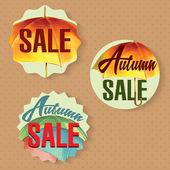 продаж этикетки — Cтоковый вектор