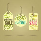 Rótulos de vendas — Vetor de Stock