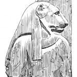 Goddess Bastet — Stock Vector #47155563
