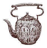 античный чайник — Cтоковый вектор