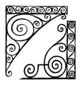 Architectural corners — Stock vektor