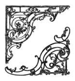 Architektonické výzdoby — Stock vektor