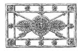 Kovaná mříž — Stock vektor