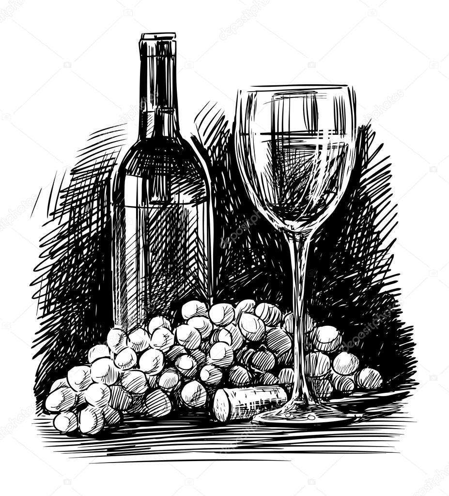 葡萄酒 — 矢量图片作者