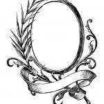 Vintage round frame — Stock Vector #47162767