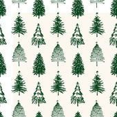 Pattern of christmas trees — Stock Vector