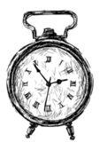 Vintage alarm — Stock Vector