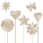 折纸 — 图库矢量图片