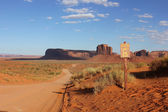 Monument Valley, Arizona, USA — Stock Photo