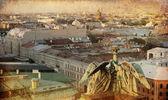 Panorama van st. petersburg, rusland — Stockfoto