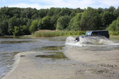 Jeep wrangler in Rusland — Stockfoto