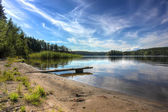 Lake Ladoga ,Karelia, Russia — Stock Photo