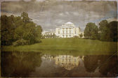 Vintage photo Pavlovsk, St. Petersburg — Stock Photo