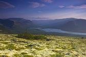 Bald mountain lake, Kola Peninsula, Murmansk region, Russia — Stock Photo