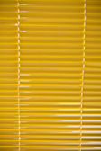 Yellow blinds — Stock Photo