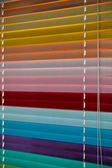 Colorful blinds — Stock Photo