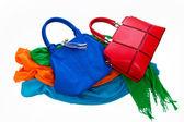 Foulards et sacs à main — Photo