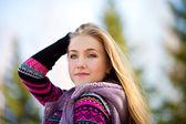 Krásná žena — Stock fotografie