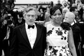 Robert De Niro, Grace Hightower — Stock Photo