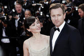 Eve Mavrakis, Ewan McGregor — Stock Photo