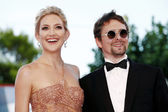 Kate Hudson, Matt Bellamy — Stock Photo