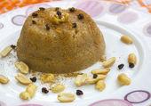 Semolina  dessert — Zdjęcie stockowe