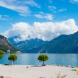 Limone sul Garda on Lake Garda,Italy — Stock Photo