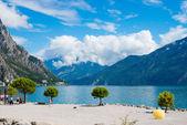 Limone sul Garda on Lake Garda,Italy — Stock Photo