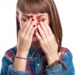 Young woman crying — Stock Photo #47375201