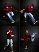 Danseur de hip-hop — Photo