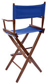 Directors chair — Stock Photo
