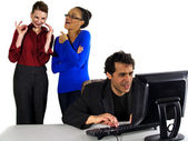 Gossip at Work — Stock Photo