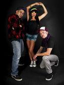 Hip hop crew — Photo